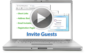 Web Meeting Invite Guests