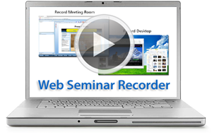 Web Meeting Web Seminar Recorder